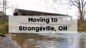 Moving to Strongsville, OH